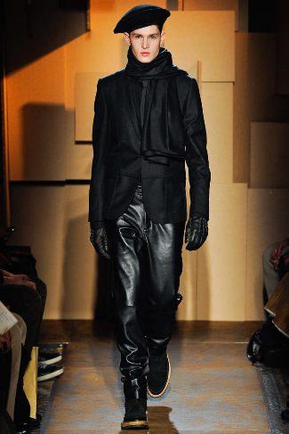 best designer leather pants for men les hommes
