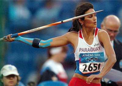 hot female olympians leryn franco javelin