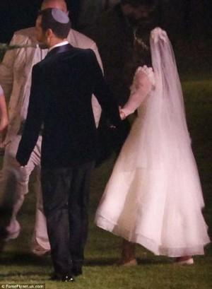 natalie portman benjamin millipied wedding