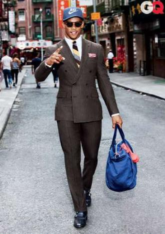 pinstripe suits in or out of fashion ralph lauren