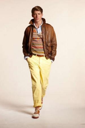 celebrities wearing ralph lauren leather jackets for men