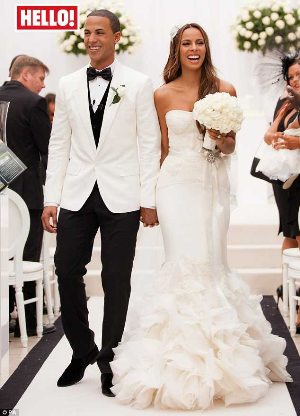 rochelle wiseman wedding dress