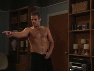 scott evans shirtless sexy hairy chest