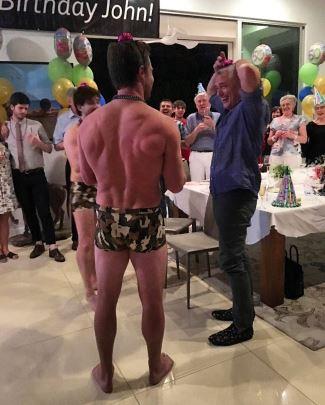 stephen amell underwear - camouflage boxer briefs