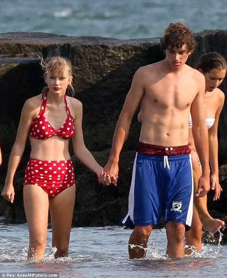 taylor swift two-piece bikini swimsuit