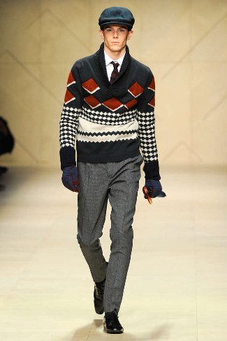 best mens winter sweaters burberry