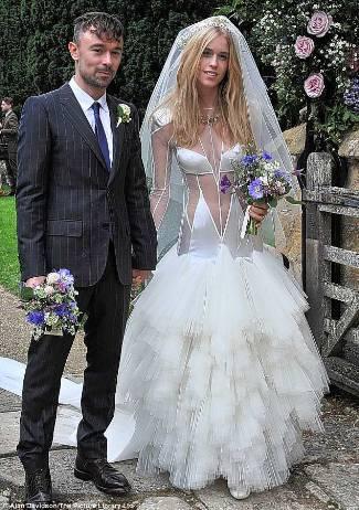 lady mary charteris wedding dress by pamm hogg