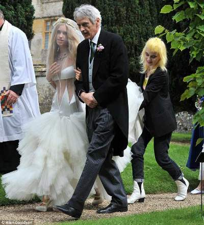 lady mary charteris wedding dress edgy