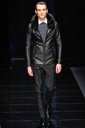mens winter leather jackets ferragamo