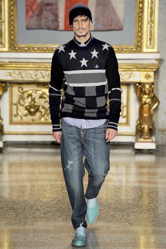 mens winter sweaters vivienne westwood