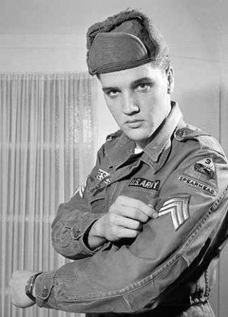 elvis presley army sergeant