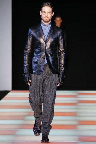 mens winter leather jackets armani