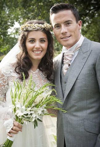 Katie Melua James Toseland Wedding dress