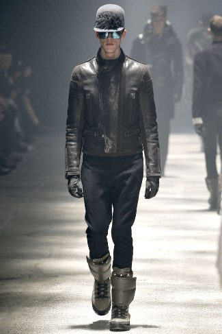 mens winter leather jackets lanvin