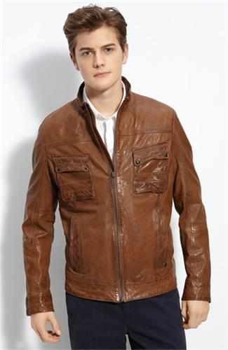 looper leather jackets - hugo boss bruce willis