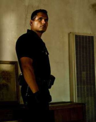 hot guy in police uniform michael pena