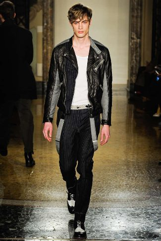 mens winter leather jackets moschino