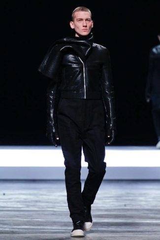 mens winter leather jackets rick owens