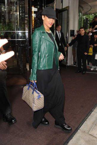 Alexander McQueen Leather Jacket Rihanna McQ