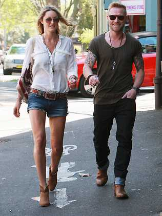Ronan Keating and Storm Uechtritz photo