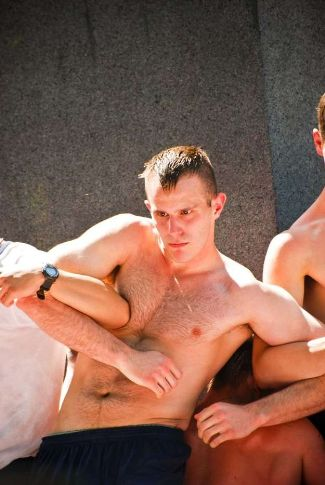 Shirtless Military Cadets Annapolis Academy