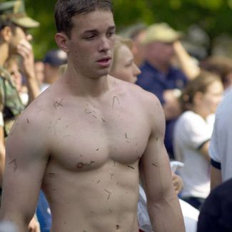 Shirtless Military Cadets Annapolis