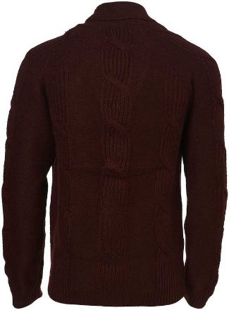 winter cardigan for men cable knit by topman