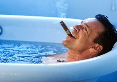 hot guys in bath tubs david james elliott