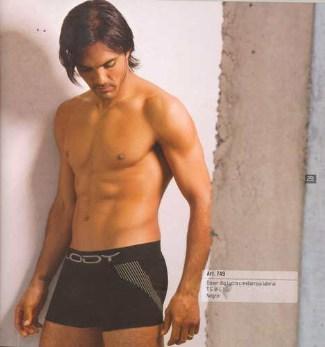 soccer underwear models - fabian cubero for lody