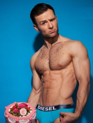 harry judd underwear briefs by diesel