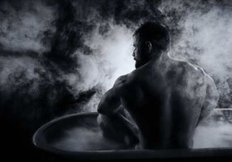 hot guys in bath tubs barry duffield