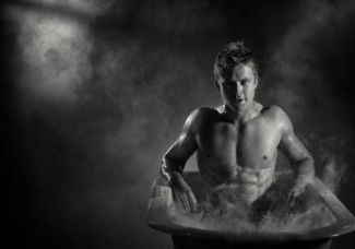 hot guys in bath tubs todd lasance