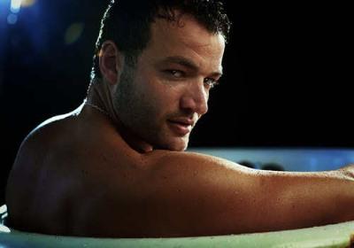 hot guys in bath tubs nick tarabay
