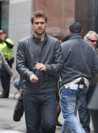 percy jackson leather jackets grey damon