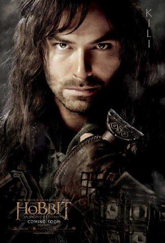 Aidan Turner - kili the dwarf - the hobbit