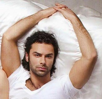 aidan turner sexy hot in bed