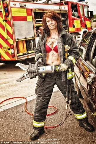 real female firefighters - november 2013 - claire morton