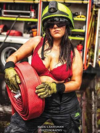 female firefighters calendar 2013 - Frankie Salerno