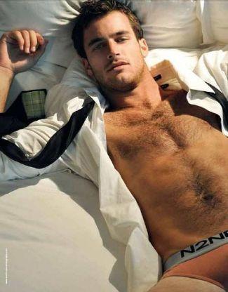 soccer underwear models - lance parker