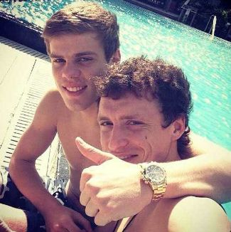 Aleksandr Kokorin Pavel Mamaev SHIRTLESS