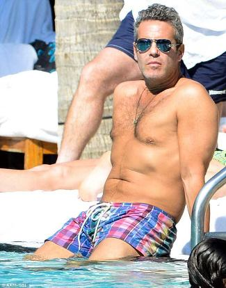 Andy Cohen shorts
