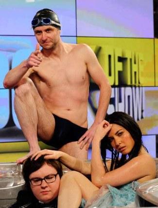 Chris Hardwick underwear - speedo