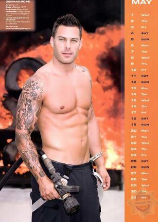 Firefighters-UK-2013-Calendar-denham pope