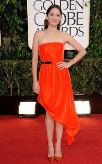 best red dresses marion cotillard christian dior dress