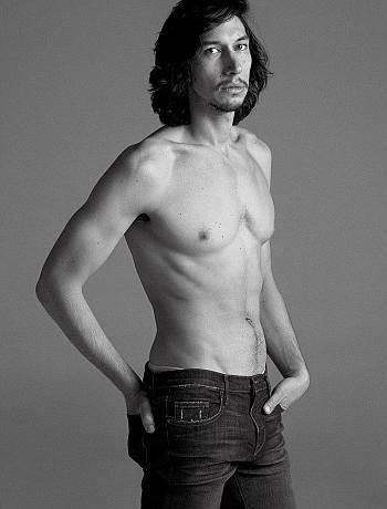 adam driver shirtless photo