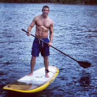 andy cohen shirtless - washboard abs