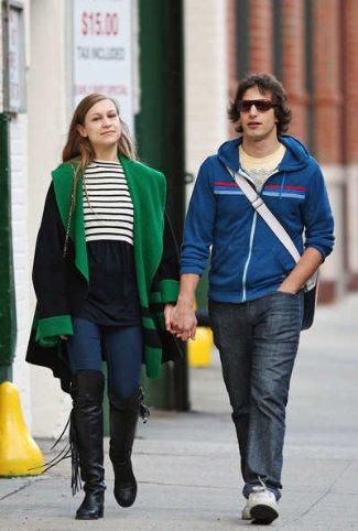 andy samberg girlfriend - musician Joanna Newsom