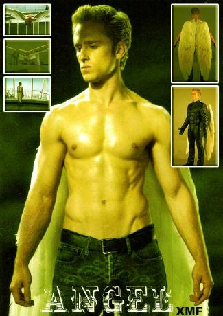 ben foster shirtless angel - with sexy abs