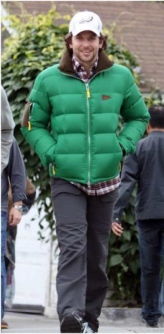 puffa jackets for men bradley cooper jacket - Gant by Michael Bastian