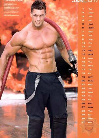 british firefighters calendar - jj nagfuel johal
